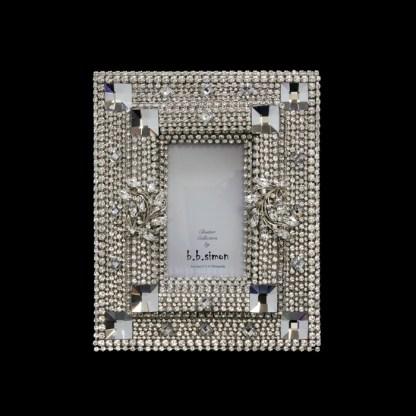 F-146-CLEAR-S bb Simon Swarovski crystal frame