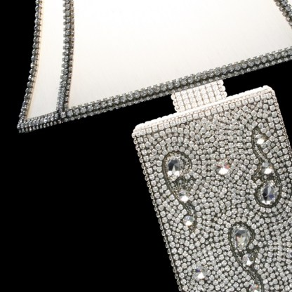 LS-107   SWAROVSKI CRYSTAL TABLE LAMP