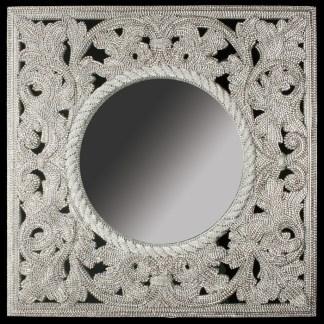 M-501 BB Simon Crystal Compact Mirror