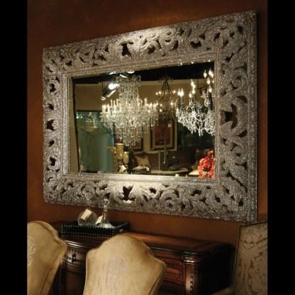 M-506 BB Simon Blinged Rectangle Wall Mirror