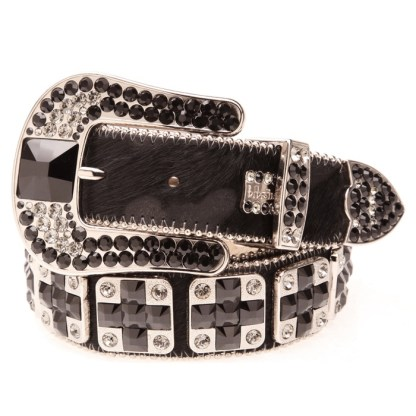 Zaketa JET/BLACK DIAMOND B.B.SIMON BELT