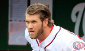 Bryce Harper. Getty Images.