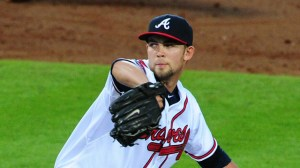 Mike Minor. Scott Cunningham/Getty Images.