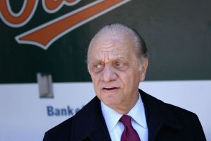 Orioles' owner Peter Angelos. Getty Images.