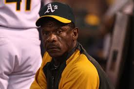 Rickey Henderson. Getty Images.