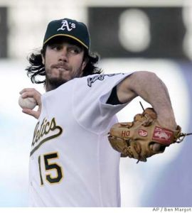Dan Haren. Getty Images.