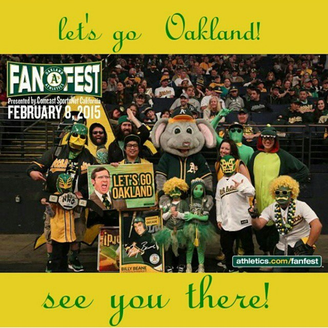 """Oakland A's """"Personalities."""" #AsFanFest 2014"""