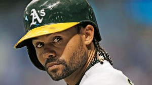 Coco Crisp. Getty Images.