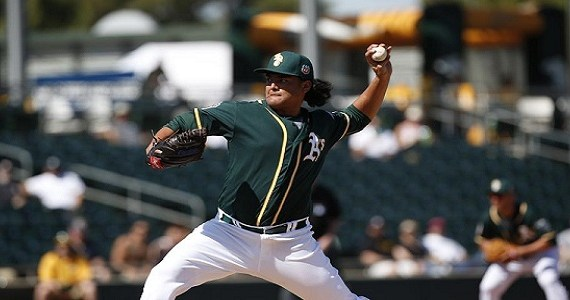 starters, Sean Manaea, MLB debut