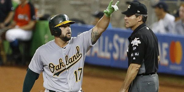 Yonder Alonso shines at 2017 MLB All-Star Game