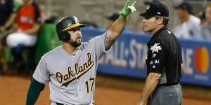 Oakland Athletics Yonder Alonso shines at 2017 MLB All-Star Game