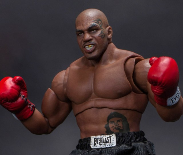 Mike Tyson The Tattoo   Scale Collectible Action Figure