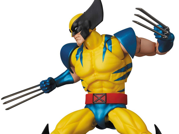 Marvel Mafex Wolverine Action Figure Bigbadtoystore
