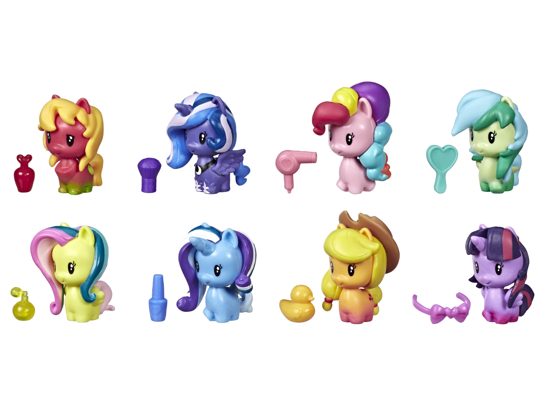 My Little Pony Toy Cutie Mark Crew Confetti Party Countdown Collectible Eight Pack