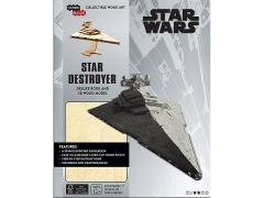 Star Wars IncrediBuilds Star Destroyer Deluxe Book & 3D Wood Model Kit