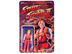 Street Fighter II Retro Action Ken Figure