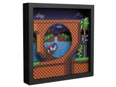 Sonic The Hedgehog Pixel Frames Loop Scene (6x6)