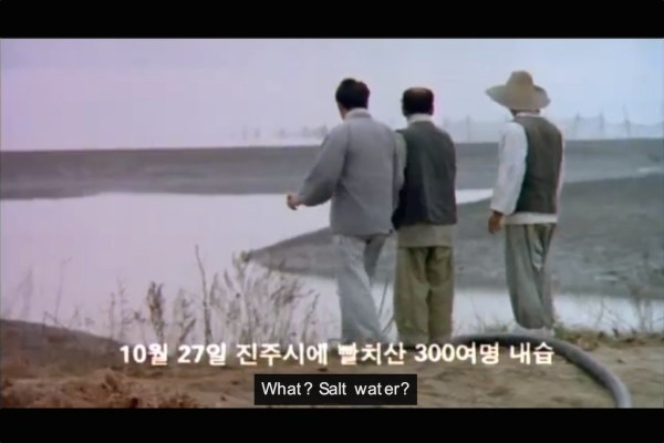 "The mudflats of Beolgyo, from Im Kwon-taek's ""Taebaeksanmaek"" (1994)"