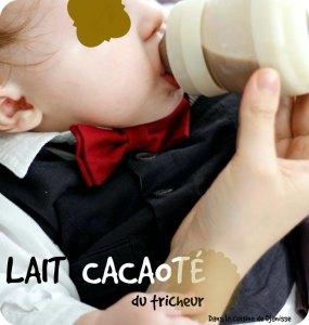 Lait cacaoté pour bébé dès 4 mois