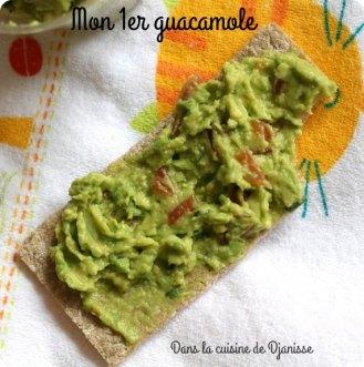 Recette bébé : mon premier guacamole