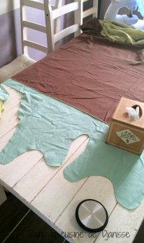 DIY turbulette d'été dans un ancien draps