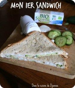Sandwich vegan pour bébés et enfants