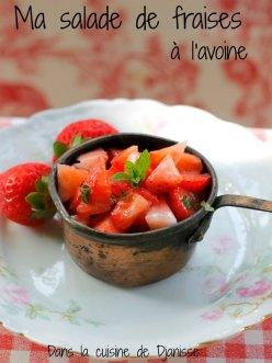 Salade de fraises pour enfants et bébés dès 6 mois (vegan)