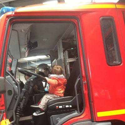 Portes-ouvertes chez les pompiers de Carquefou
