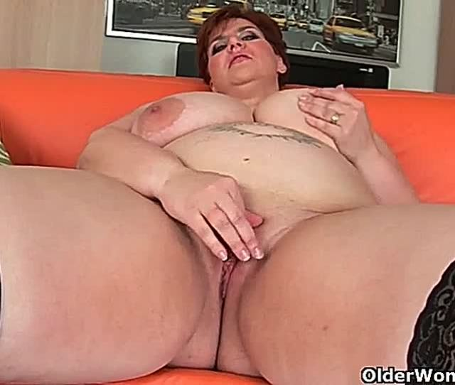Older Fat Woman Nude