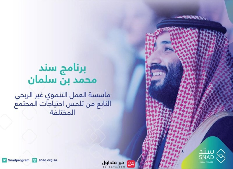 3 فئات من المستفيدين لهم الأولوية لدى برنامج سند محمد بن سلمان