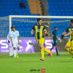 خسارة نادي الحزم ضد الأهلي برباعية مقابل هدفين