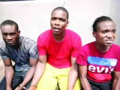 Image result for Suspected kidnappers of Kalu's mother, others in police net