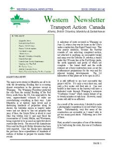 Western Newsletter Coming