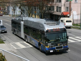 Translink Articulated Trolley Bus