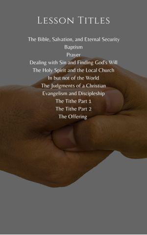 Discipleship Program – Student Handbook