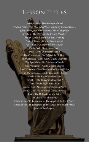 Bible Characters – Volume 5
