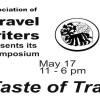 Taste of travel poster plain top