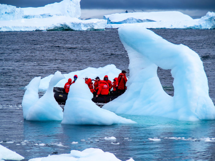 floating-with-the-icebergs by Irene Butler