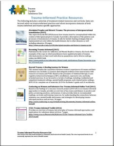 TIGI Trauma Informed resource image