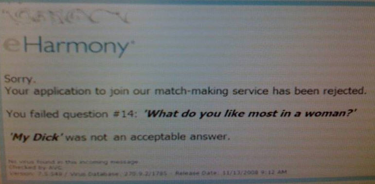 eharmony-rejection