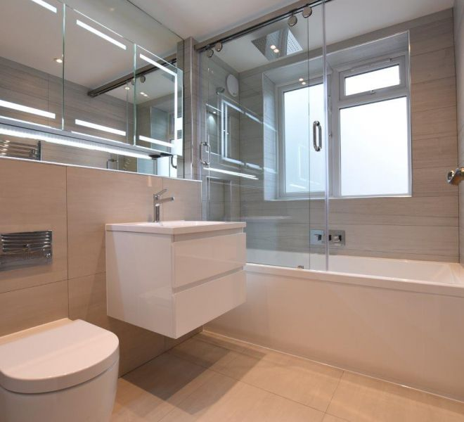 Ensuite bathroom interior design