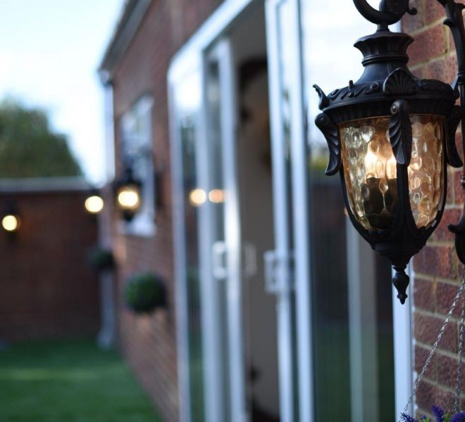 Outdoor lighting solutions by Brompton cross
