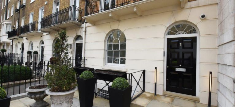 Wilton place renovation Knightsbridge in central London