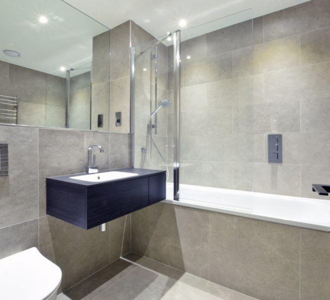 Luxury bathroom renovation in Mayfair London