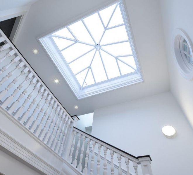 Roof light installation and roof works in Mayfair London