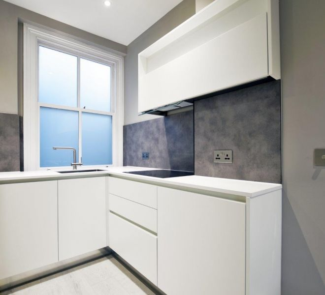 Mayfair Apartment Kitchen