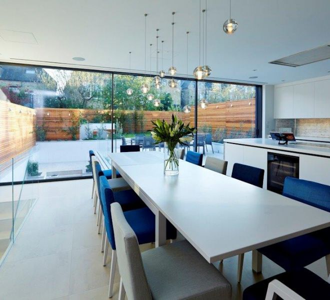 Clapham property kitchen and dining room renovation