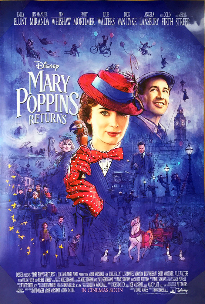 Cartoon Pictures for Mary Poppins Returns (2018) | BCDB