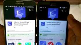 How To :- Share Your Smartphone Screen To Another Mobile