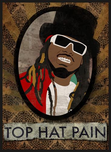 top hat pain